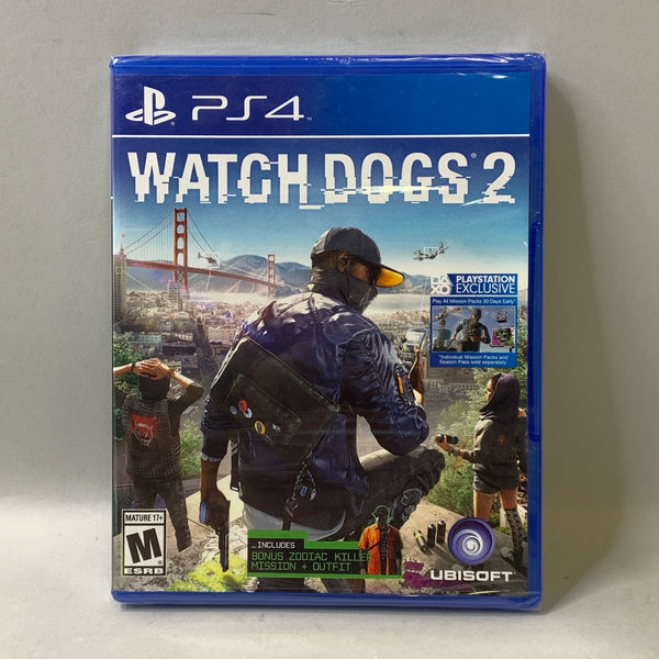 Watch Dogs 2 (Sony PlayStation 4, 2016)