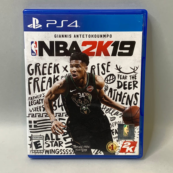 NBA 2K19 (PlayStation 4, 2018) - Used