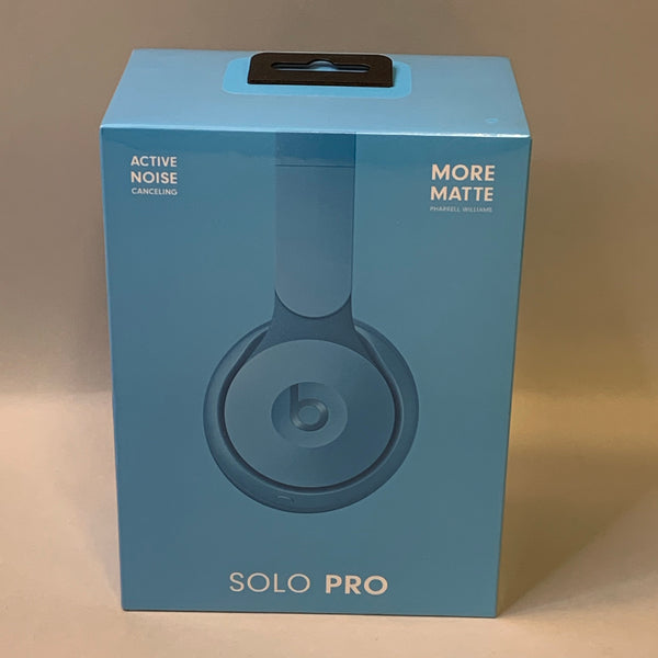 *NEW* Beats by Dr. Dre - Solo Pro Noise Cancelling Wireless On-Ear Headphones - More Matte Pharrell Williams Edition