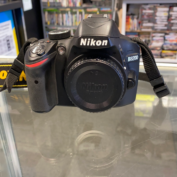 Nikon D3200 24.2MP Digital SLR Camera (Body Only)