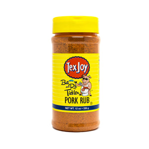 TexJoy Butt and Rib Tickler Pork Rub - 12 oz