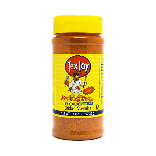 TexJoy Rooster Booster Chicken Seasoning - 14 oz