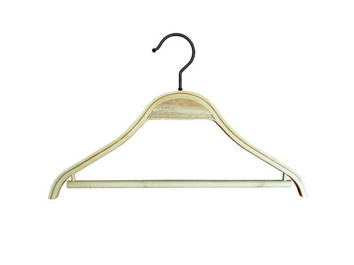 Childrens Bamboo Hanger with Bar (100)