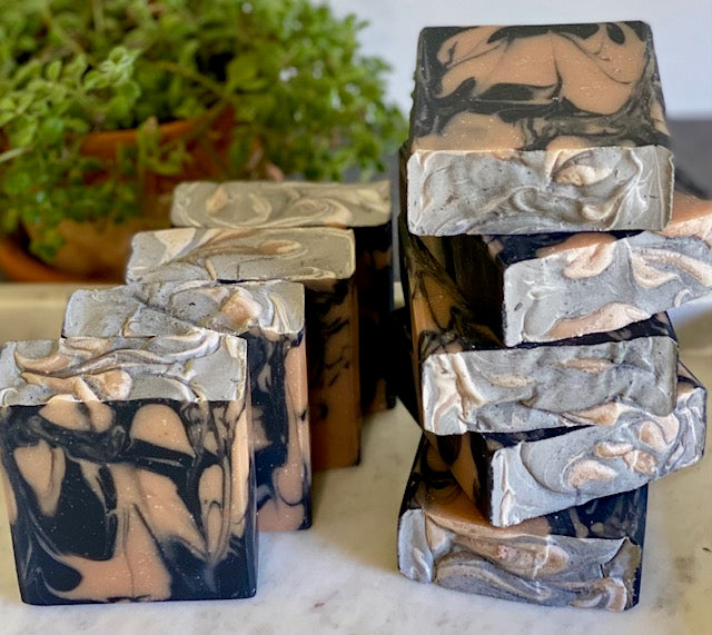 Activated Charcoal + Pink Grapefruit Soap