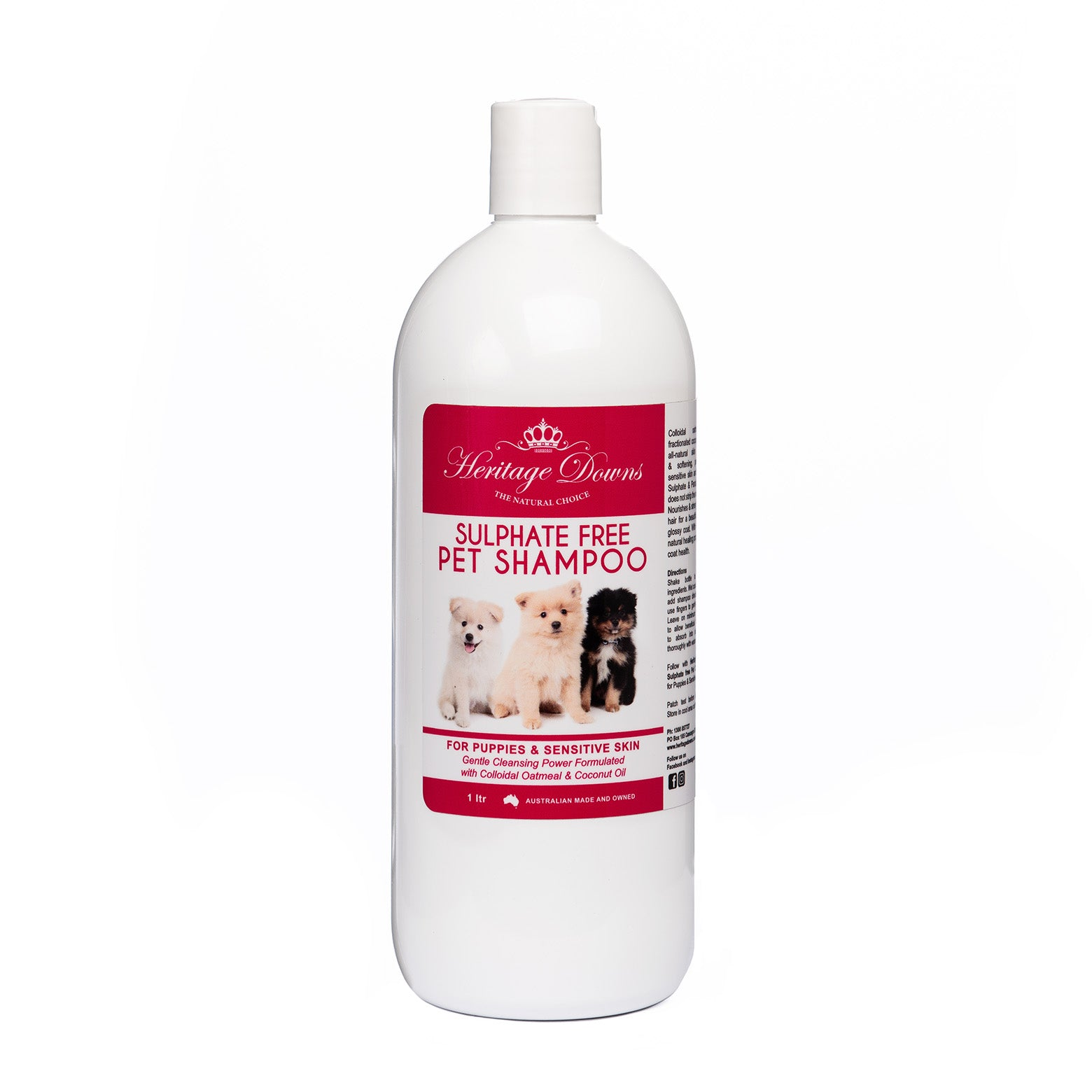 Oatmeal & Coconut Pet Shampoo