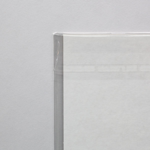 A6 Crystal Clear Print Bags for Art Prints