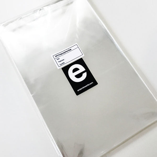 A5 Crystal Clear Print Bags for Art Prints