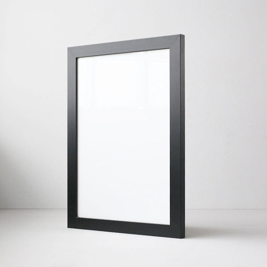 Classic Black Blank Frame for Artwork