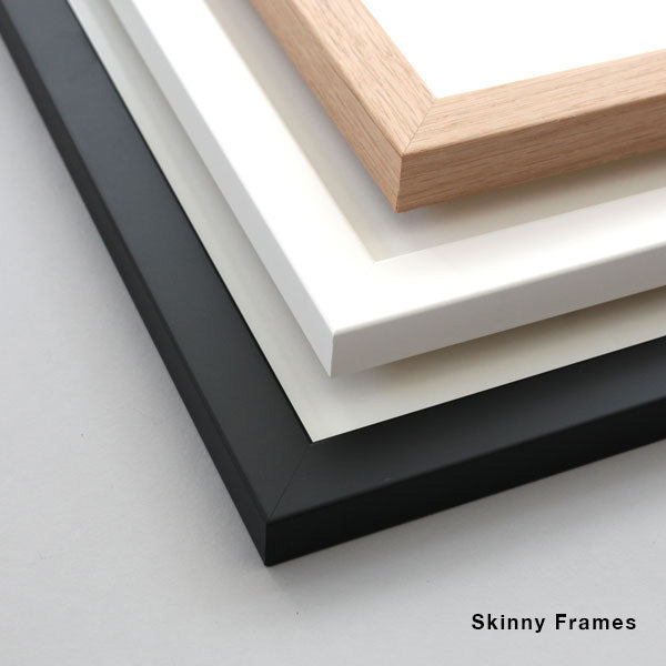 Skinny White Frame for Artwork