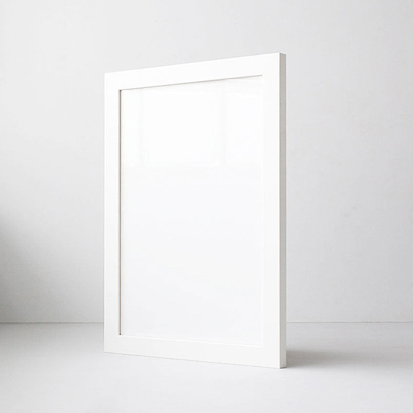Classic White Blank Frame for Artwork