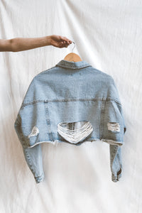 CHAQUETA DENIM ACID