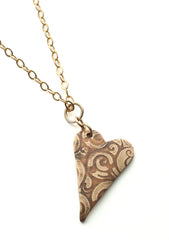 Heart pendant: Inlay 2