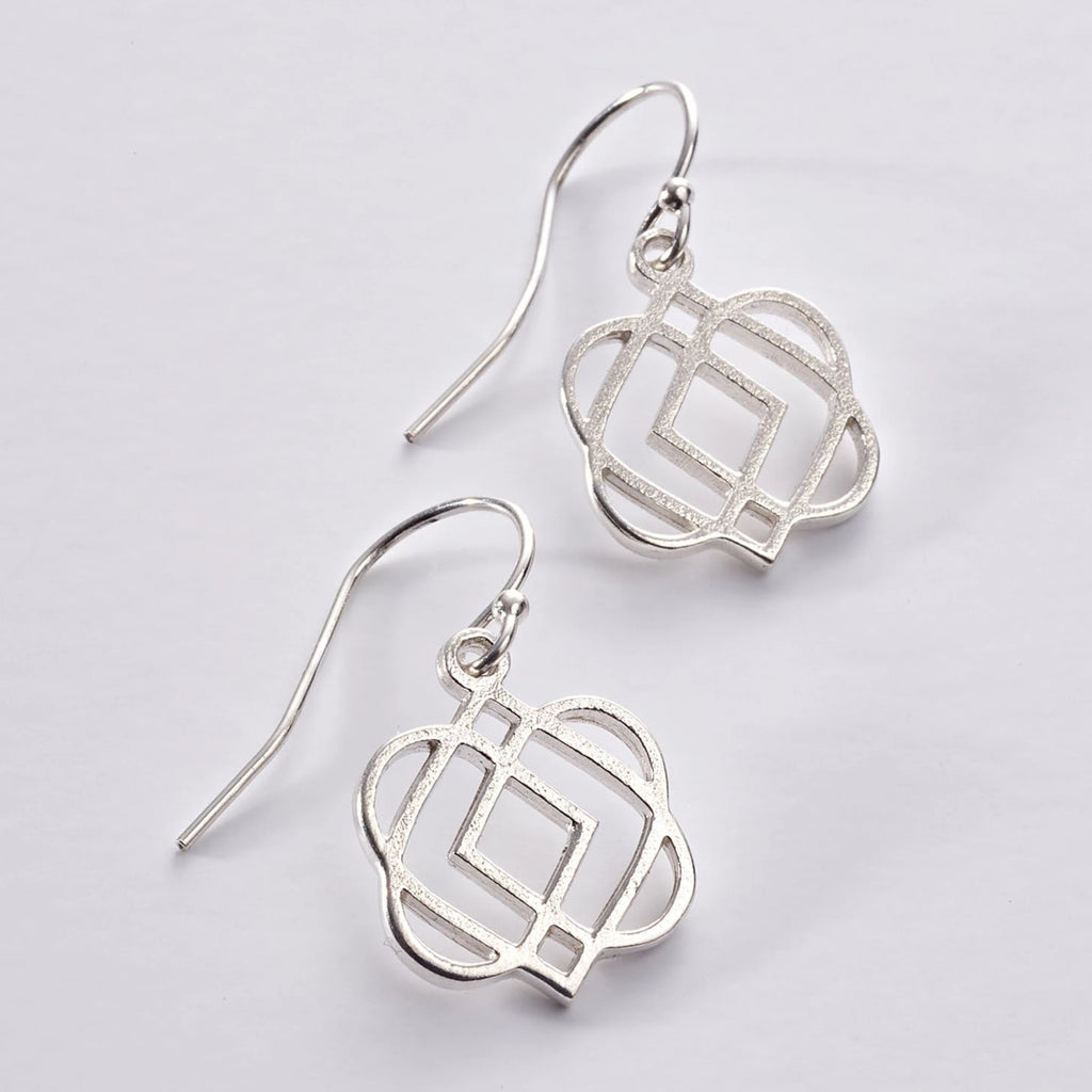 ONENESS Silver drop earrings