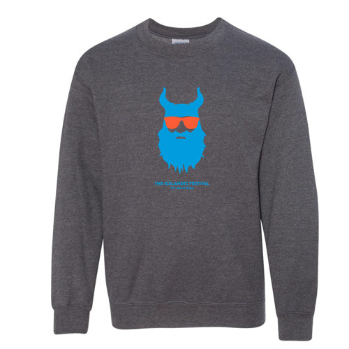 Kids Viking Sweater - Grey and Blue