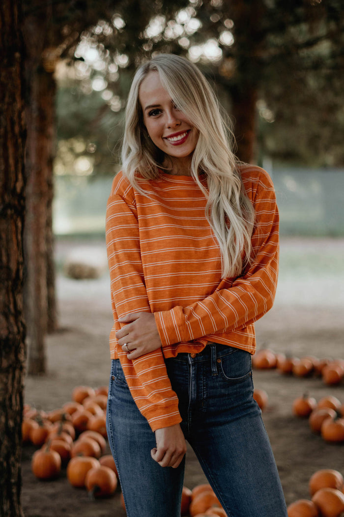 Orange Creamsicle Top