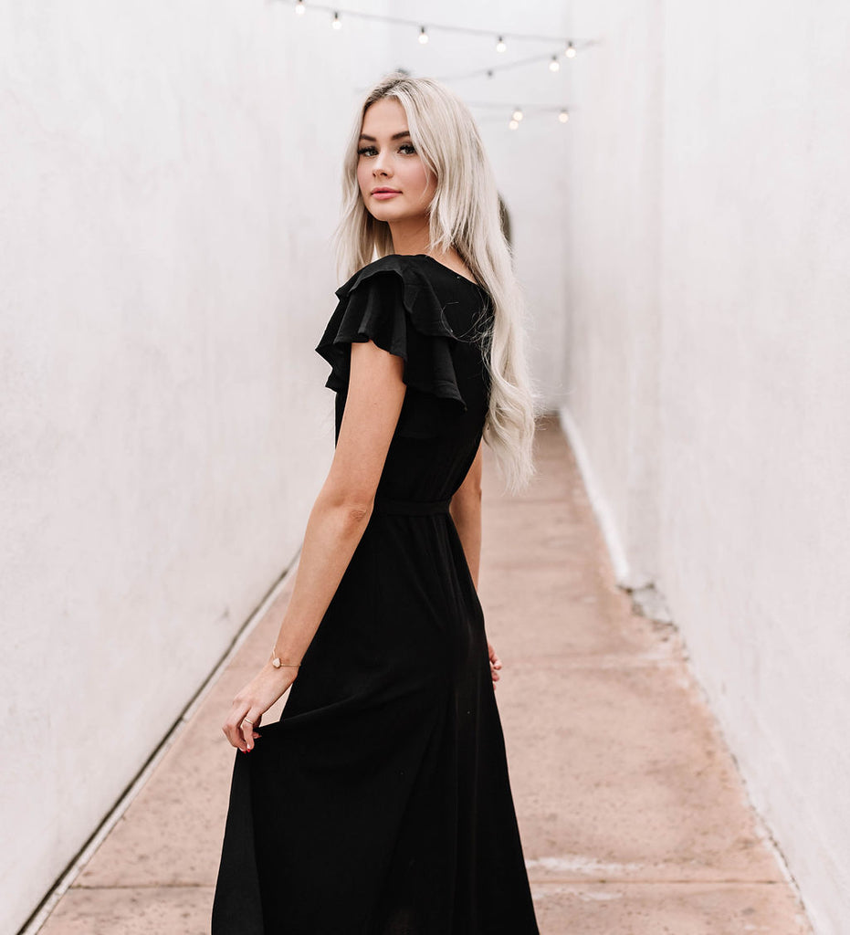 Going out black dress