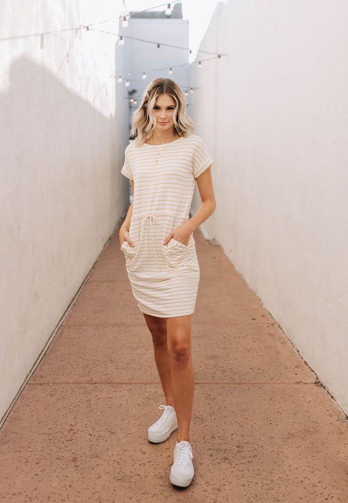 Sunshine t-shirt dress