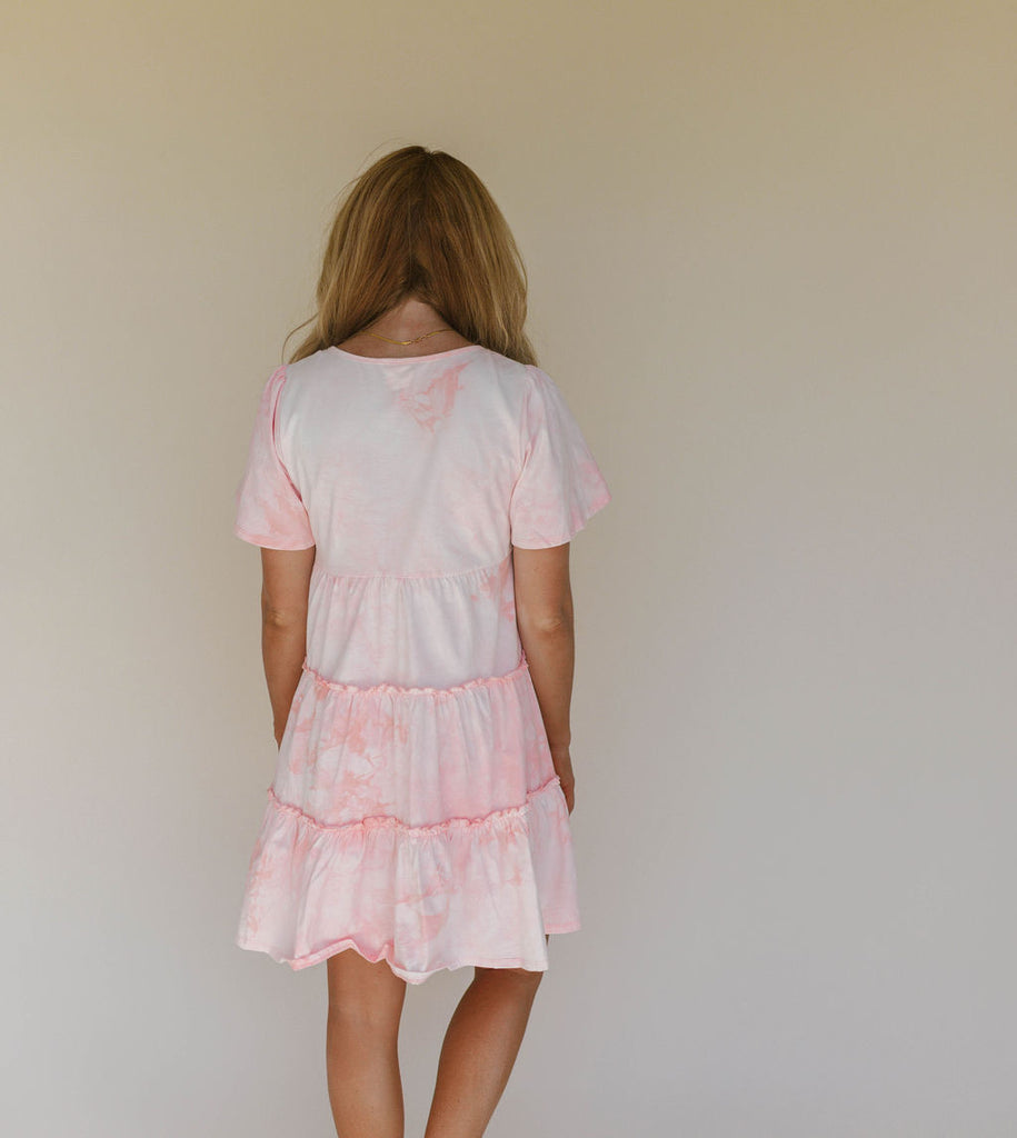 Bubble Gum Mini Dress