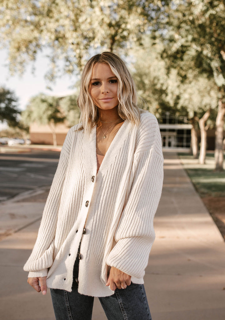 Knit's Sweater Weather in Cream