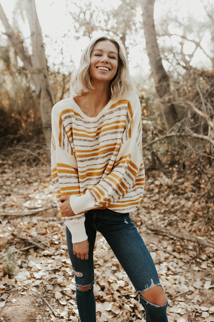 Mellow Yellow Sweater