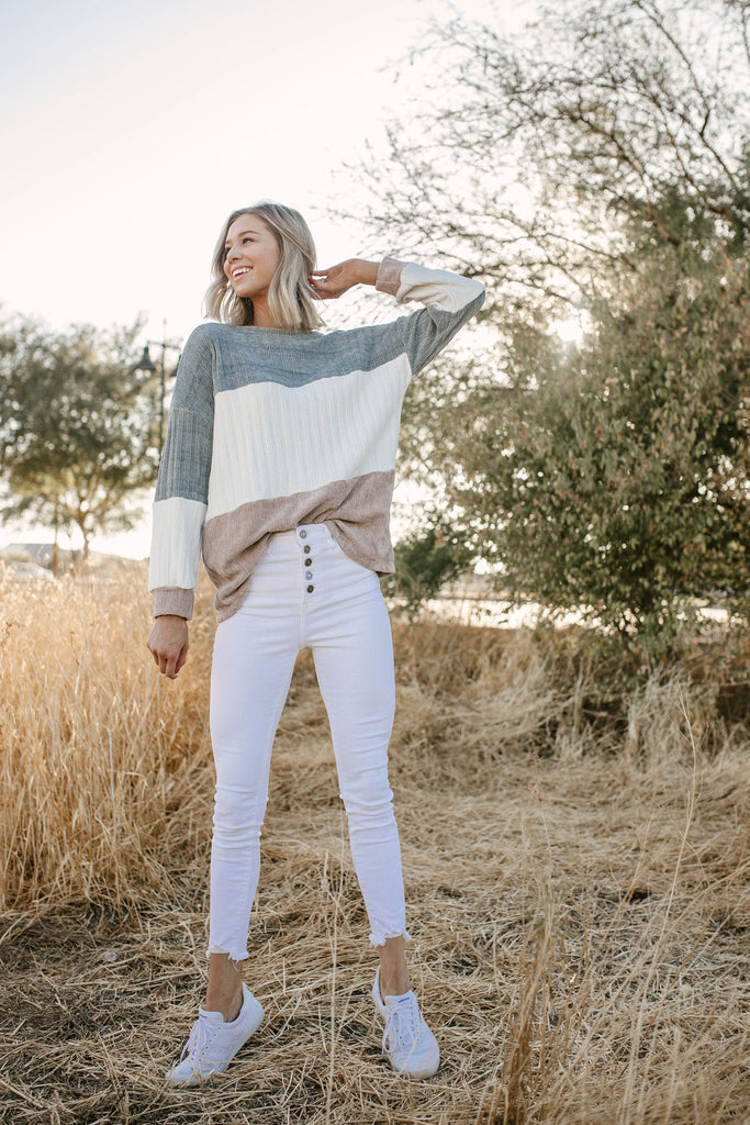 Cozied Up Ribbed Sweater