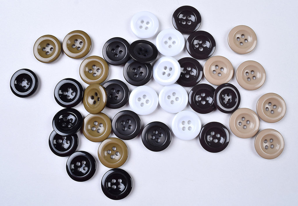 Pack of 6 Traditional Braces Buttons (BU1)