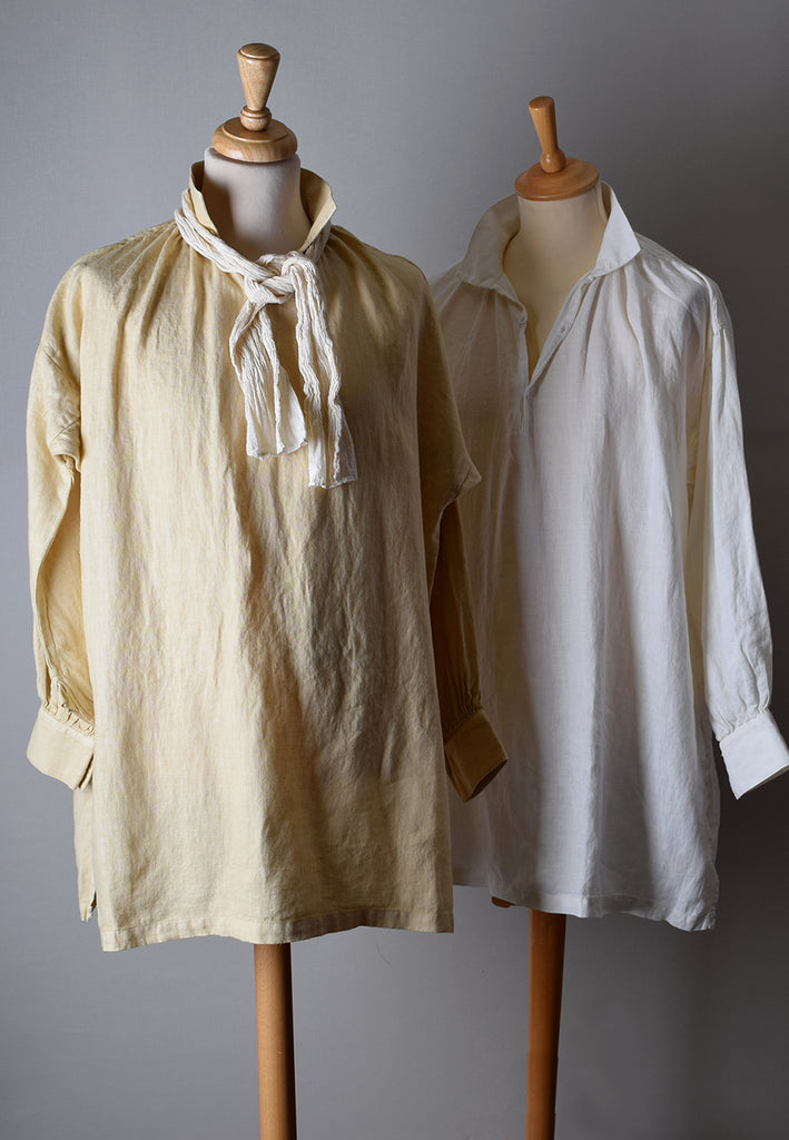 Broken Down Heavyweight Linen C18th Shirt (SH122B)