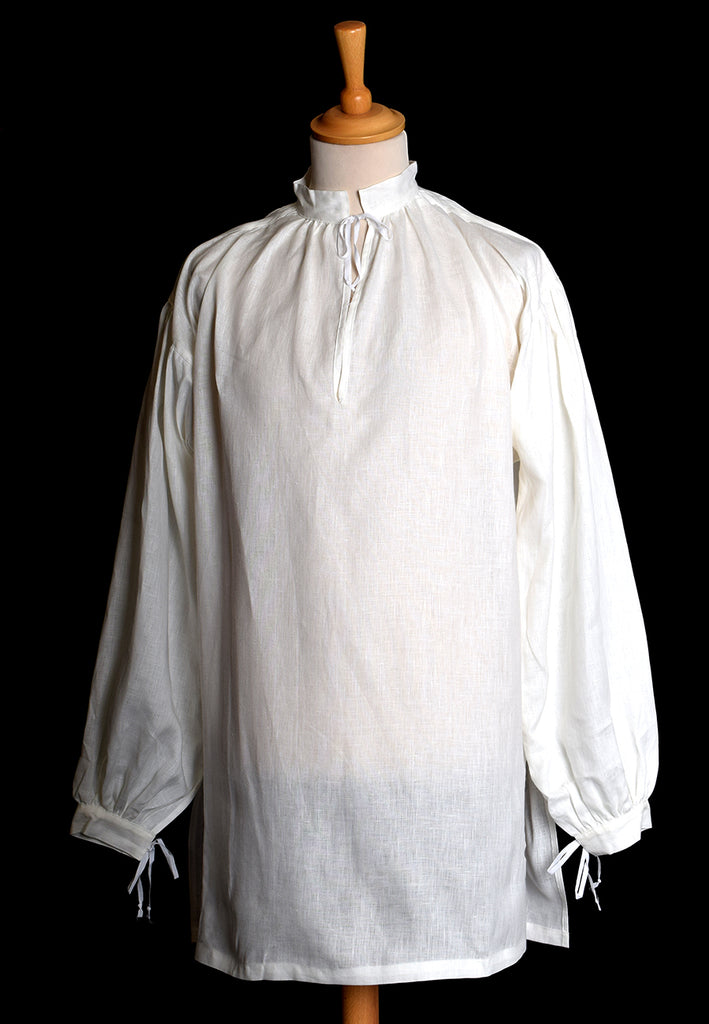 C16th Linen Shirt (SH101) - Darcy Clothing