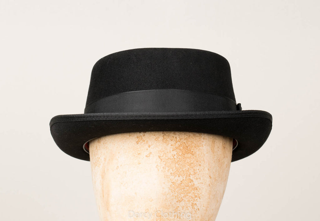 Wool Pork Pie Hat (HA127)