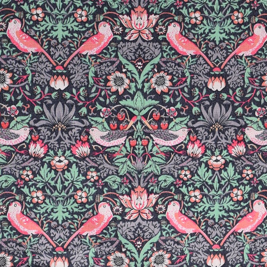 Liberty Strawberry Thief Tana Lawn Mauve Fabric (FD-LIB-051)