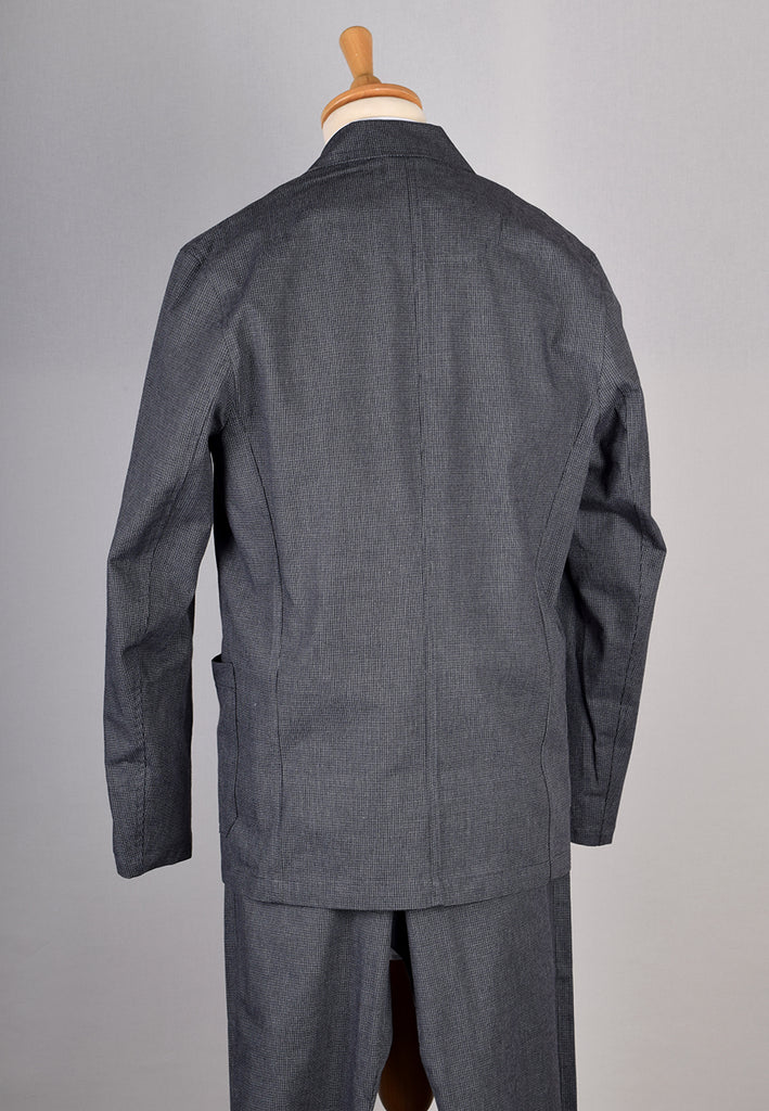 Charcoal Textured Weave Jacket (JA360)