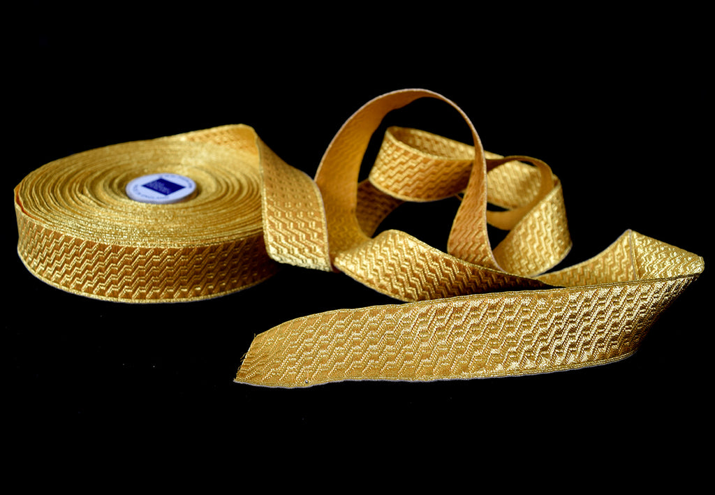 Gold Mylar B&S 40mm Braid (BDG018)