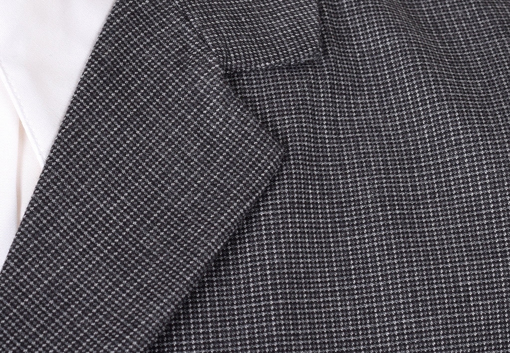 Charcoal Textured Weave Waistcoat (WC360)