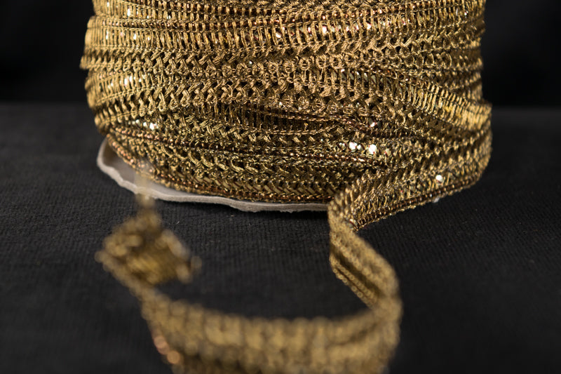 Single Sided Gold Braid (BD09)