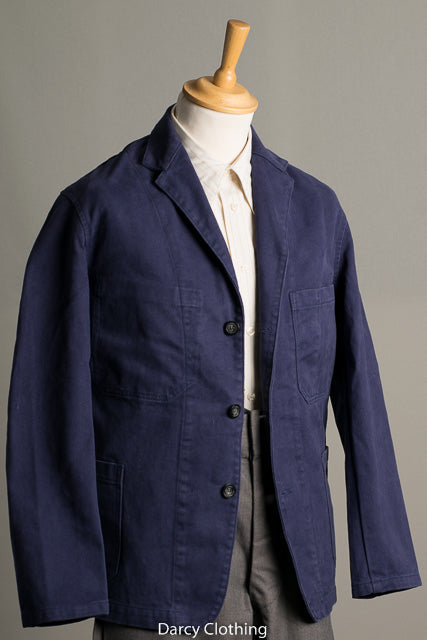 Washed Cotton Drill Work Jacket (JA100)