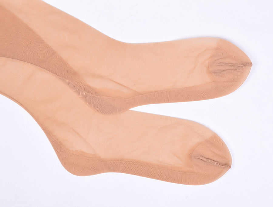 Nude Seamed Tights (JA118)