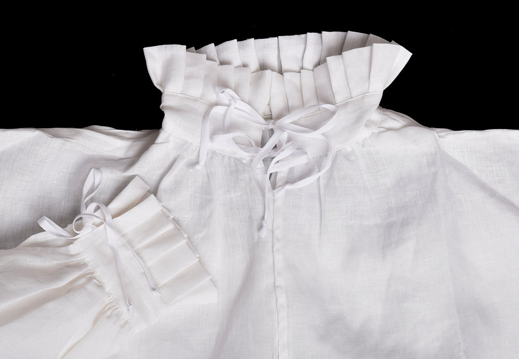 Pleated frill C16th Shirt (SH121P)