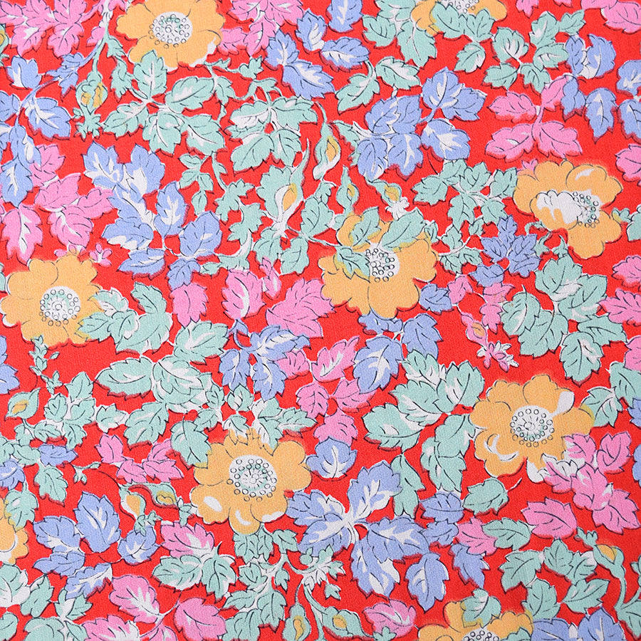 Yellow Poppy Liberty Tana Lawn Fabric (FD-LIB-20)