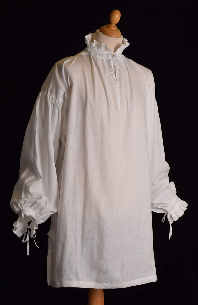 Frilled Linen C16th Shirt (SH121F)