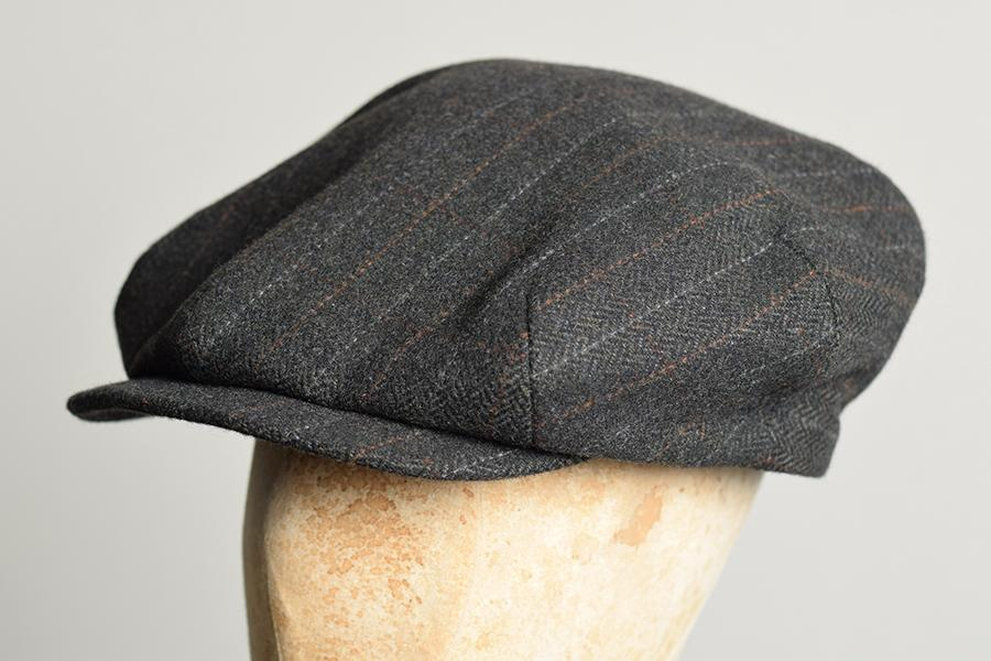 1930's Tweed Cap (HA139) - Brown