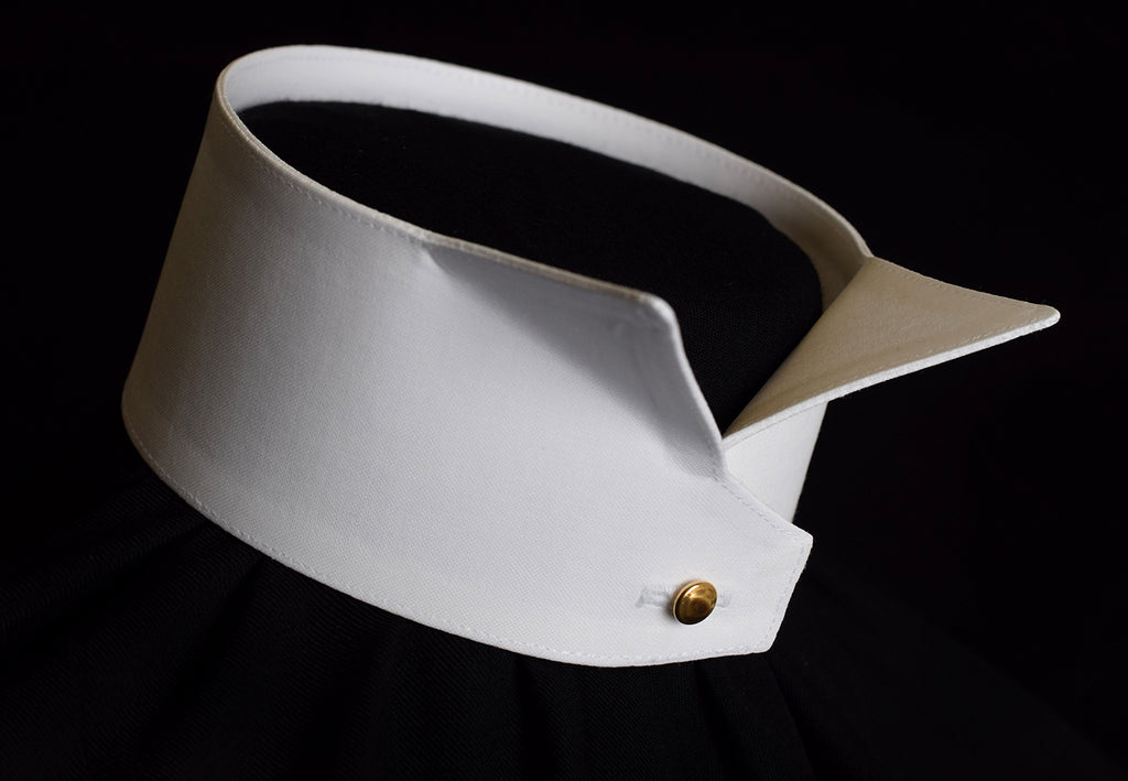 Starched 2¼in High Wing Collar (CO111)