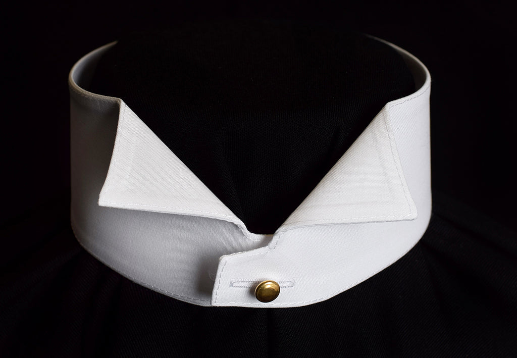 Washable Edwardian Wing Collar (CO138W)