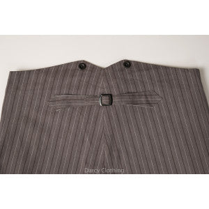 Grey Cowboy Stripe
