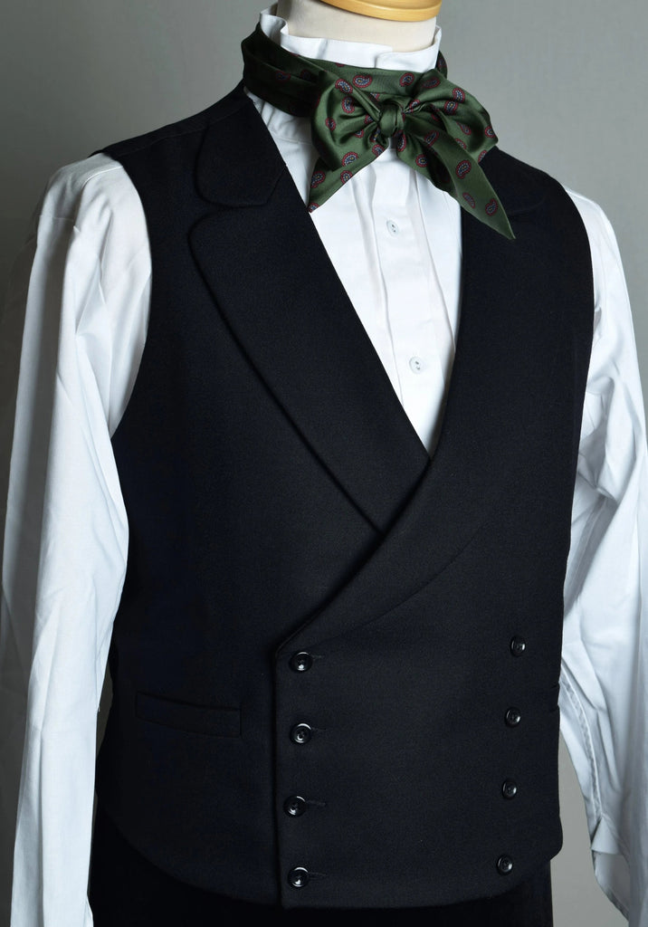 Victorian Double Breasted Waistcoat (WC108)
