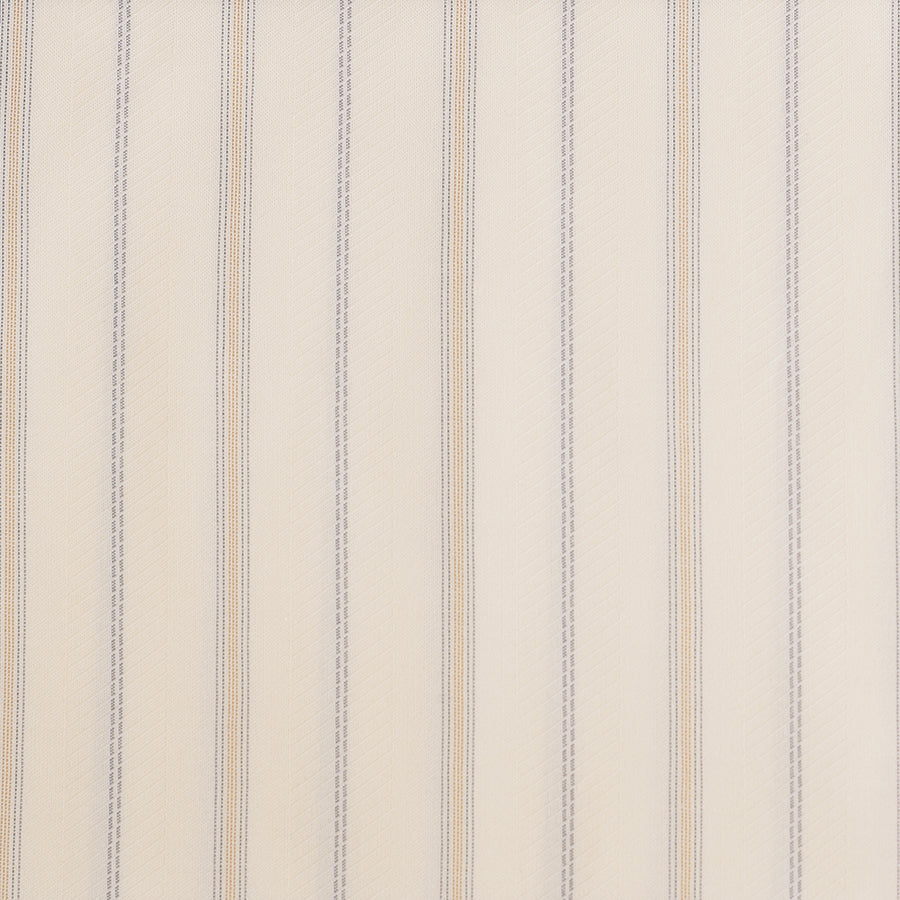 Striped Cream Cotton Lining (FD014)