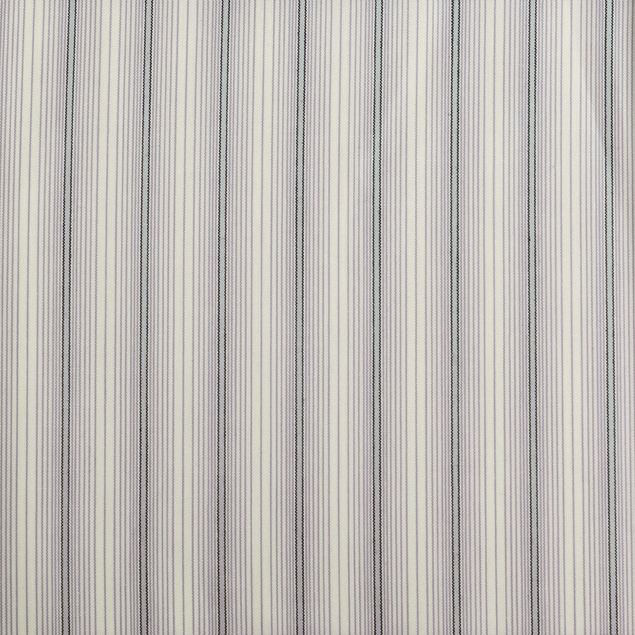 Duck Egg Blue Stripe Cotton Fabric (FD099)