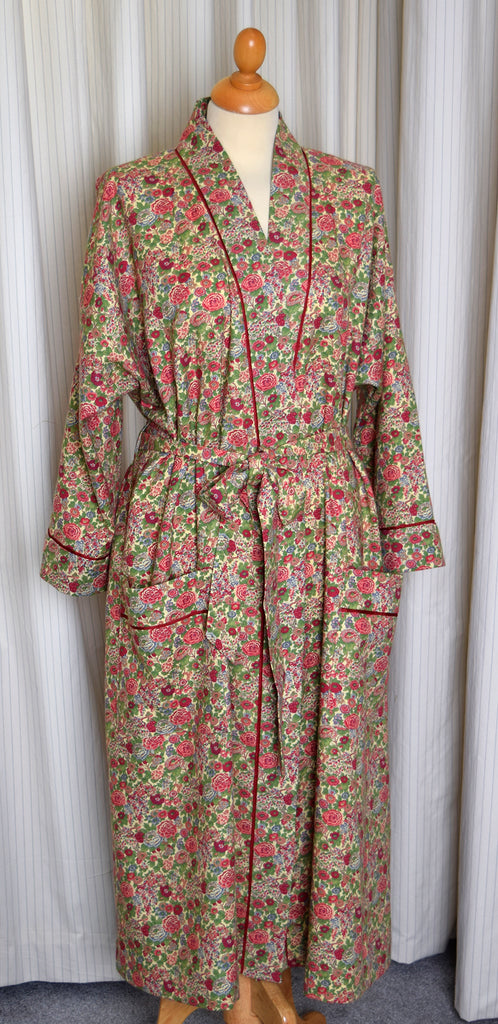 NW520 - Dressing Gowns - Red/Green Elysian - Available to Order