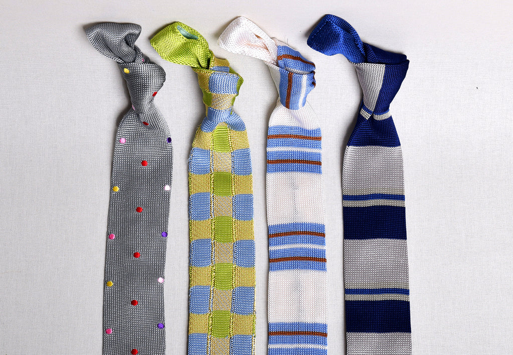 Silk Knitted Ties (CR574)