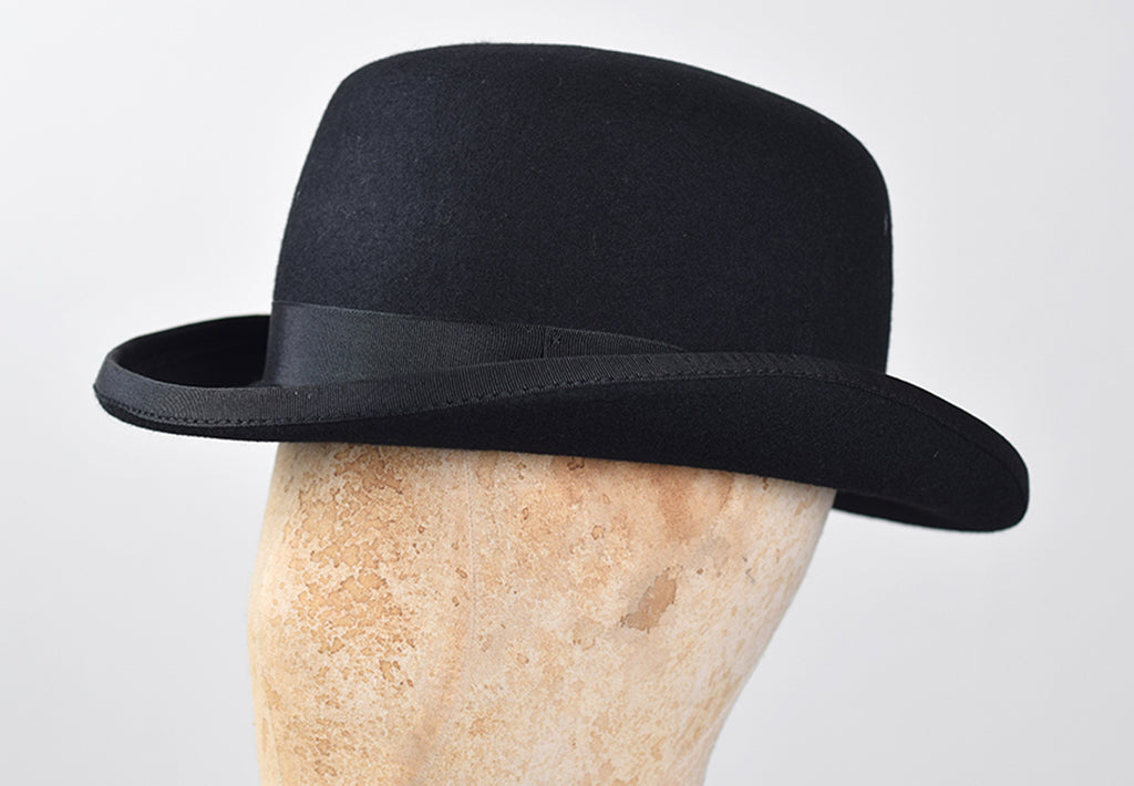 Black Bowler Hat (HA114)
