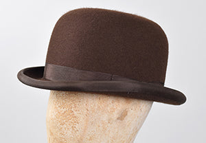 Christy's Brown Bowler Hat (HA128)